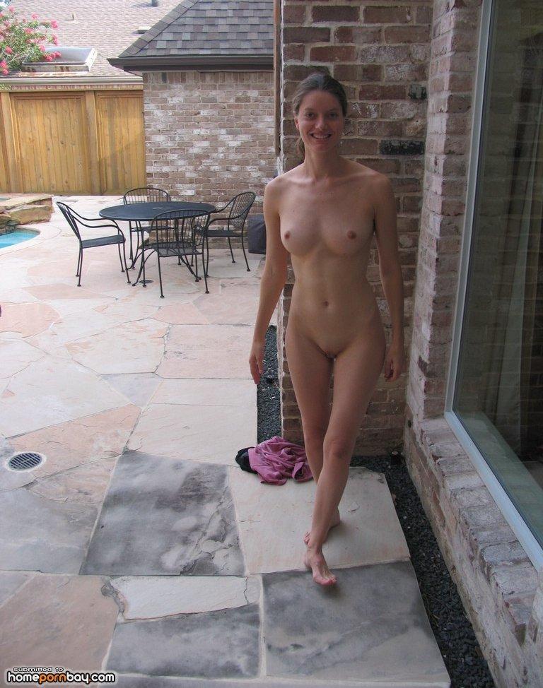 Backyard Nude