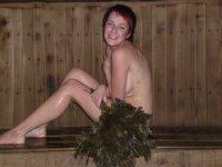 Two russian sluts in sauna