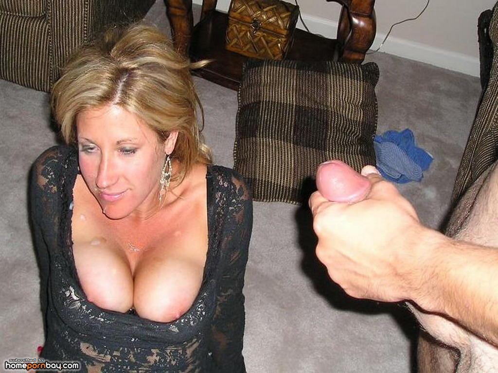 Ebony Milf Sucks White Cock