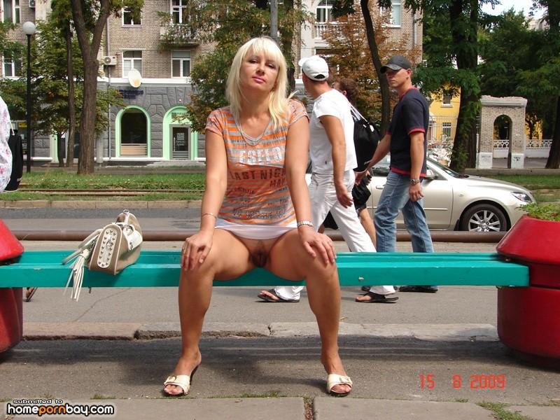 Nude russian public