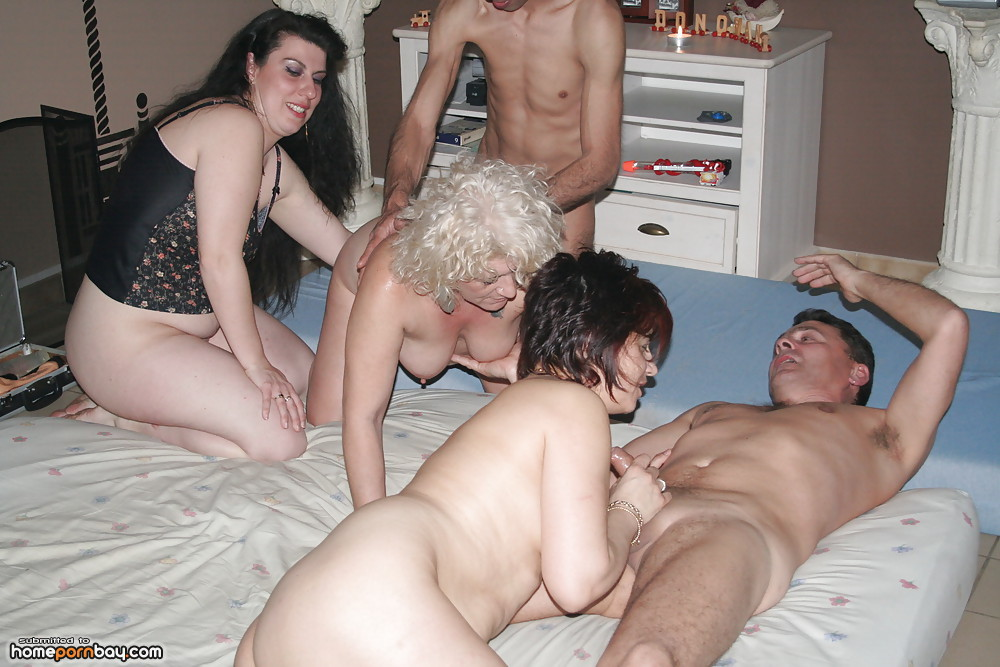 Sex party old couples