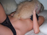 Homemade pics of cute amateur GF