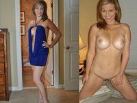 dressed undressed milfs Mixed