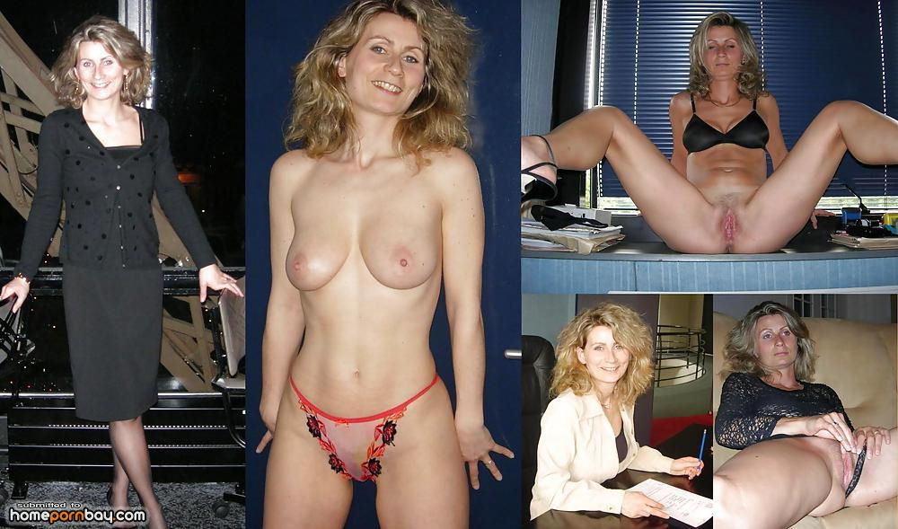 Clothed after and milfs before