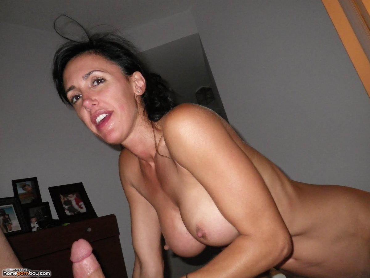 Brunette Milf Short Hair