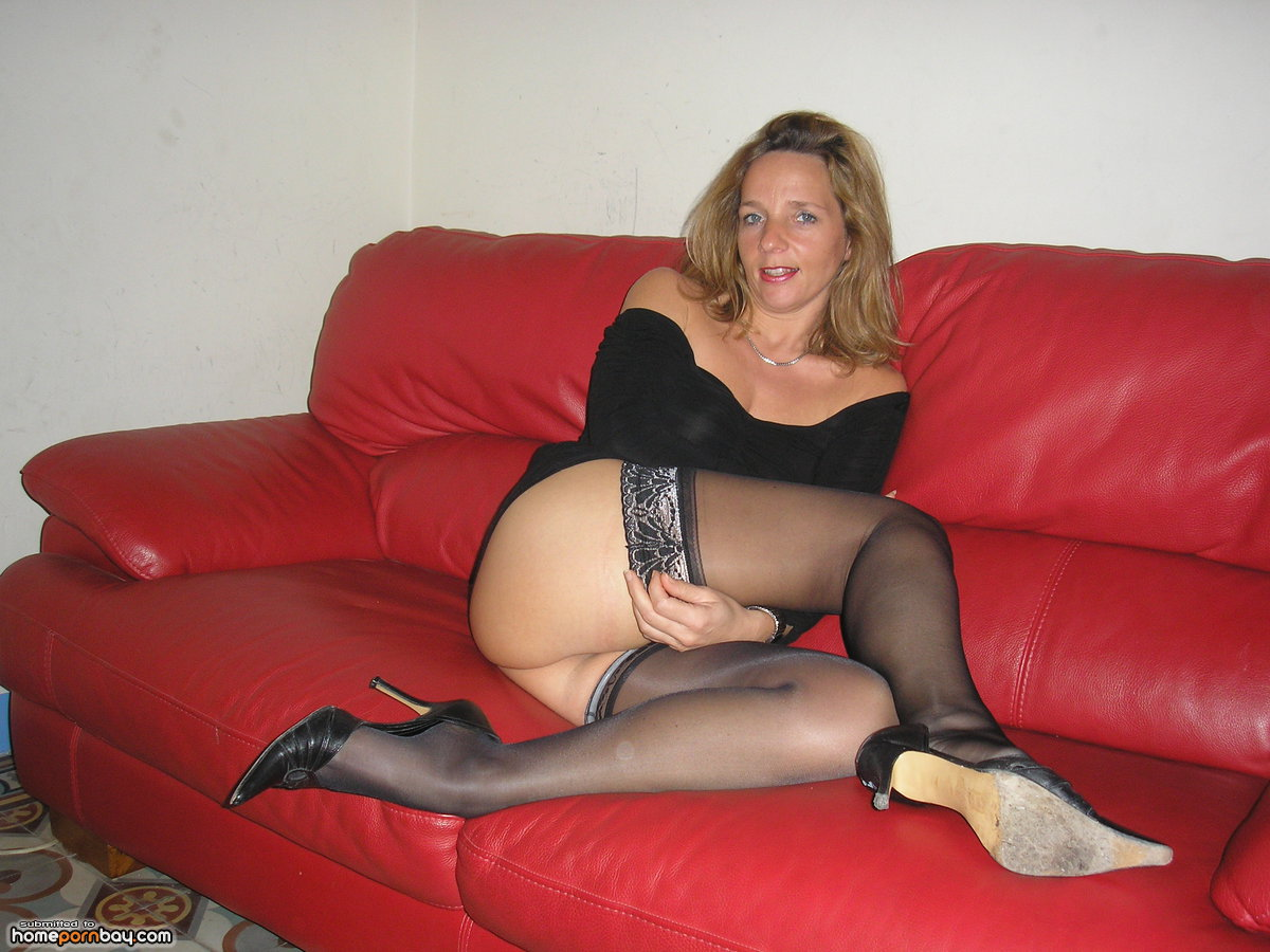 Horny french milf