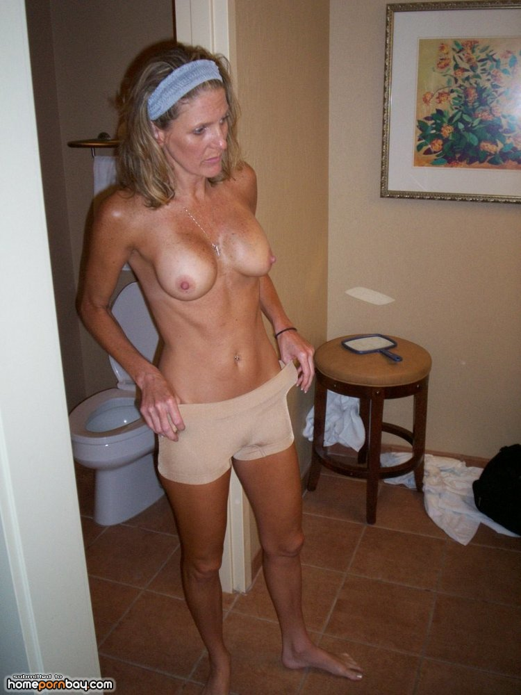 Skinny and sexy milf