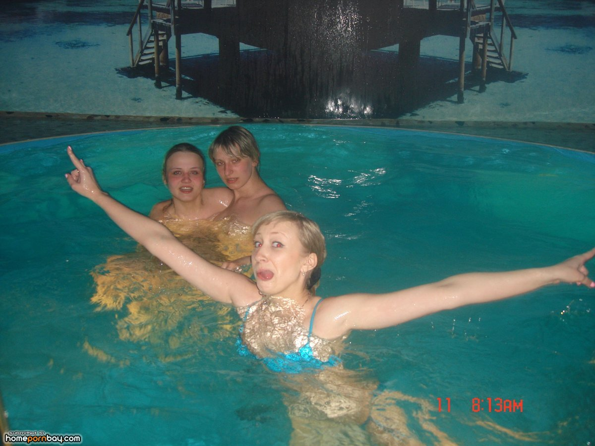Homemade amateur pool