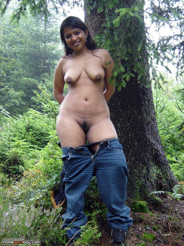Indian nude outside