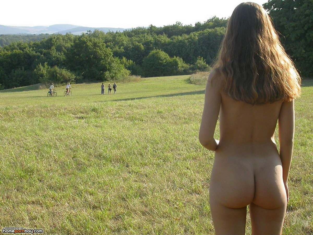 High Altitude Naked Photography