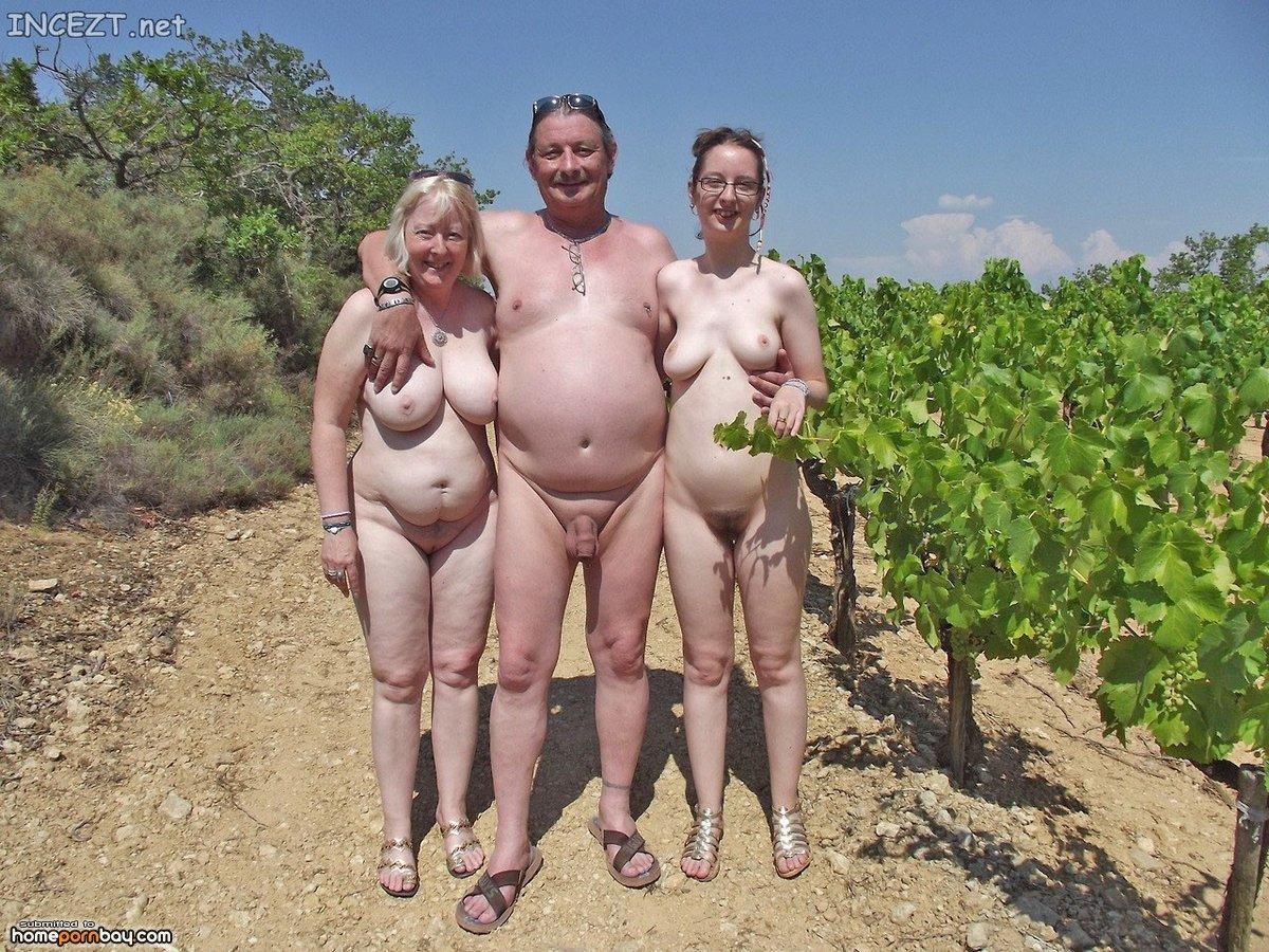 Family sharing porn
