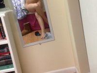 Young amateur teen self shots