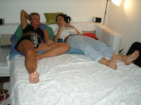 Two couples nice private vacation pictures
