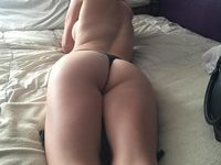 Shy amateur GF with great ass