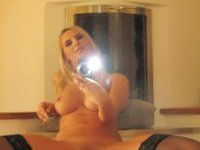 Nice titted blond proud of herself
