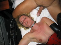 Submissive mature amateur blonde wife