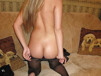 Young amateur blonde GF exposed
