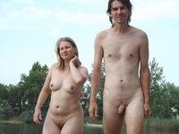 Nudist amateur couple