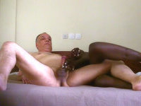 African Interracial Porn Action
