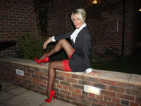 Lisa Rountree In Nylons And Heels
