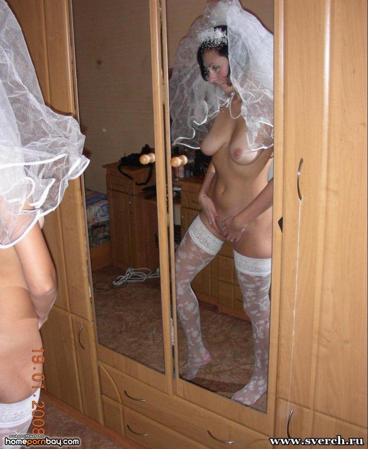 naked brides Amateur russian