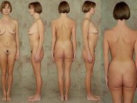 Speaking, would Nude women line up girl can not