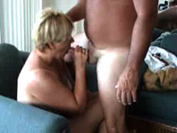 Milf cumshooted on her tits