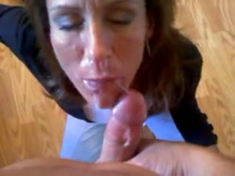 in cum Amateur mouth cock