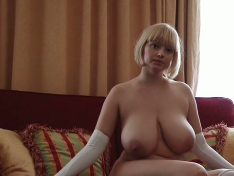 Russian blonde at home nude speaking