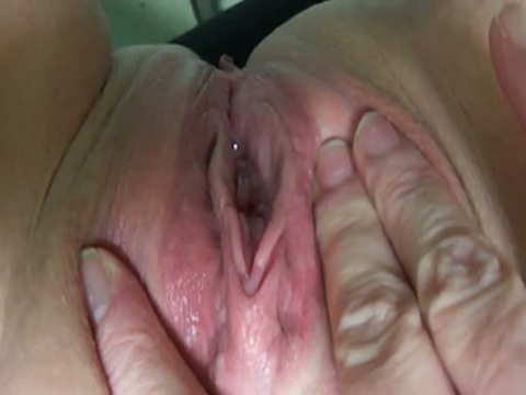 Close Up Open Pussy Squirt