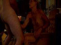 Pretty smoking blonde wife gets fuck hard sunday evening after went to church