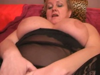 Hot busty milf gets some serious anal action