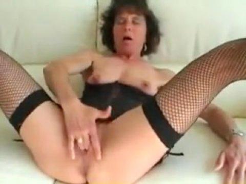 In lingerie grannies