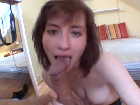 Notch! Chrissi german wife sucking cock