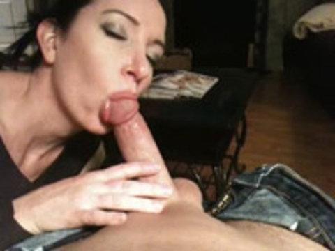 Great Ball Sucking and Cum Shot Home Porn
