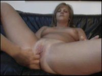 Blonde Milf got her her first ever anal penetration
