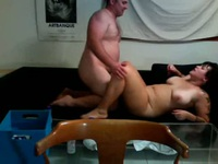 Big lady taking a dick deep